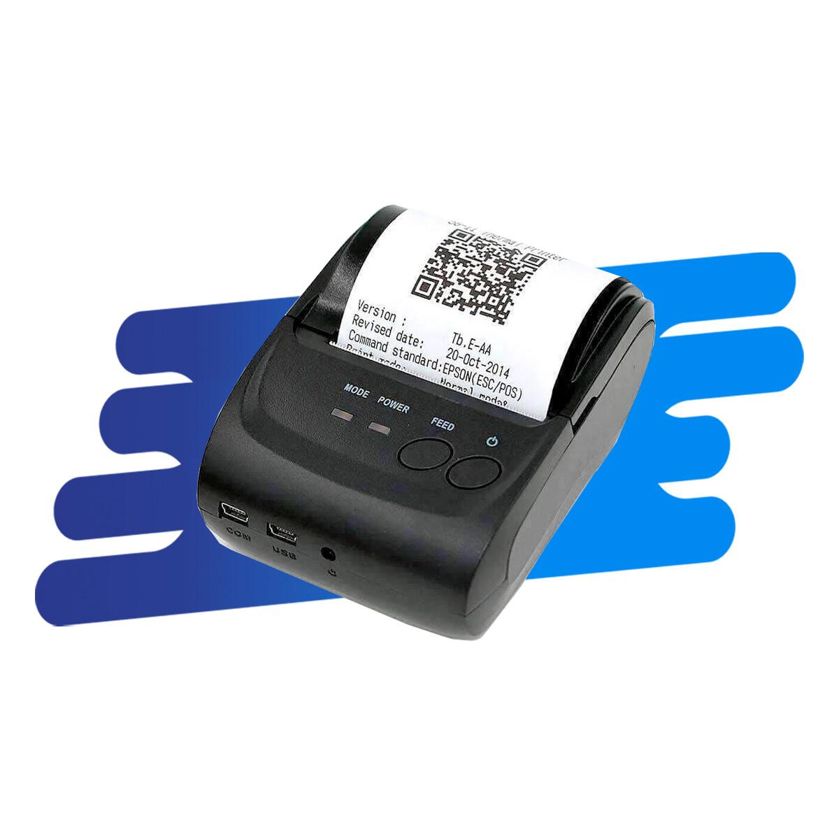 Impresora Térmica de Ticket Bluetooth 58MM