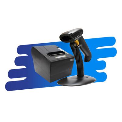 Kit Impresora de Tickets, Lector