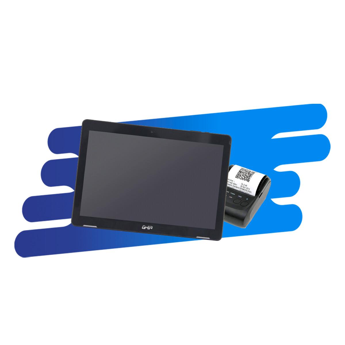 Kit Cloud (Tablet, Impresora de Tickets Bluetooth)