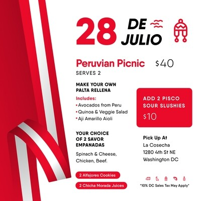 Peruvian Picnic - Peruvian Independence Day Special