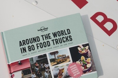 Lonely Planet: Around the World in 80 Food Trucks Hardcover Book