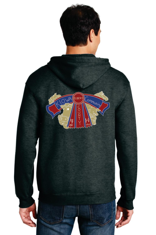 Kiowa Community 4H ZIP Hoodie