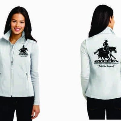 Ladies Soft Shell NVRHA Vest
