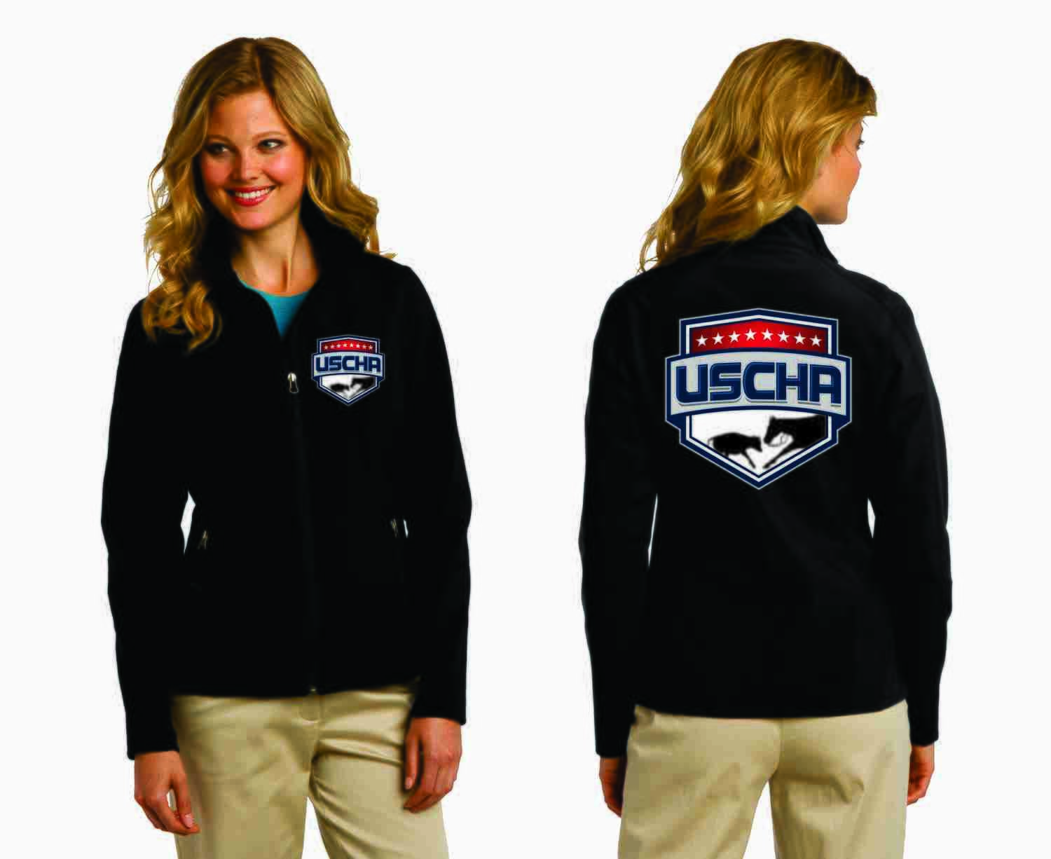 Ladies Soft Shell USCHA Jacket