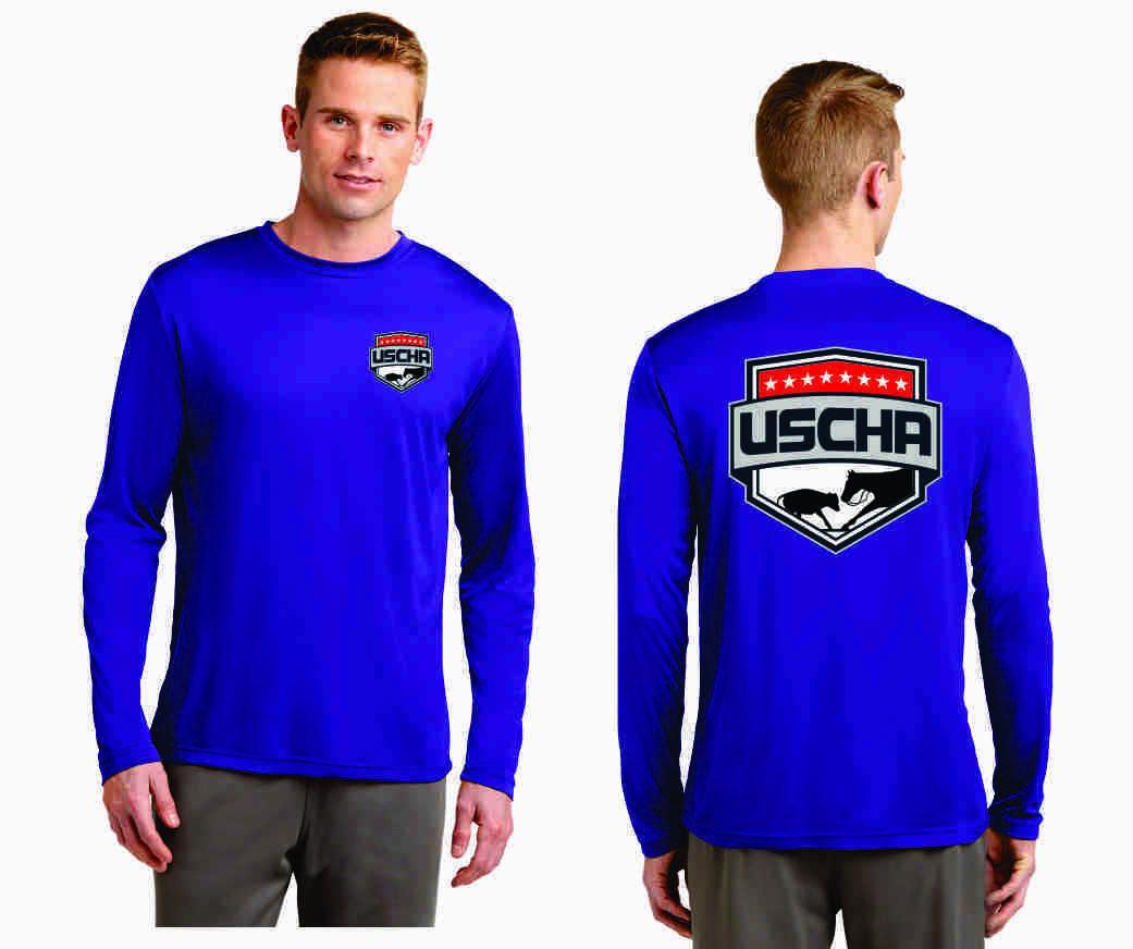 USCHA Long Sleeve Performance T-Shirt