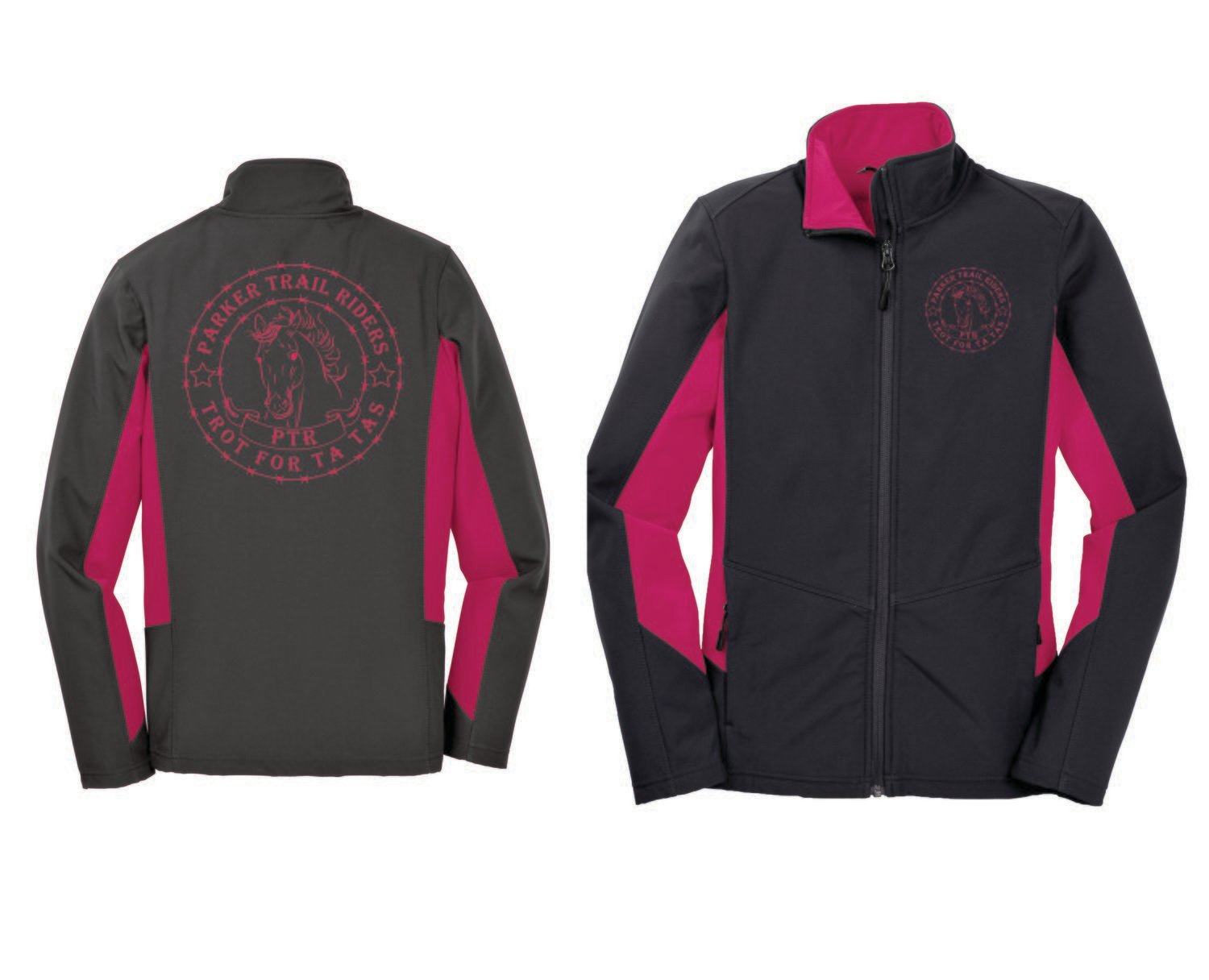 Ladies Soft Shell PTR Ta Tas Jacket