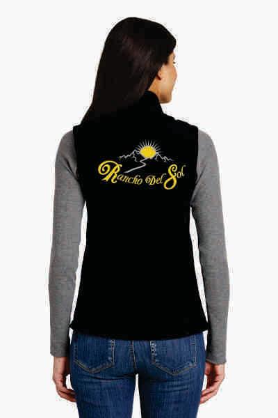 Ladies Soft Shell Rancho Del Sol Vest
