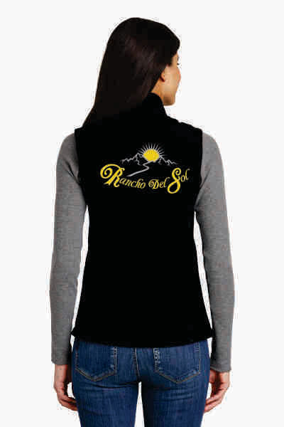 Ladies Soft Shell Rancho Del Sol Vest