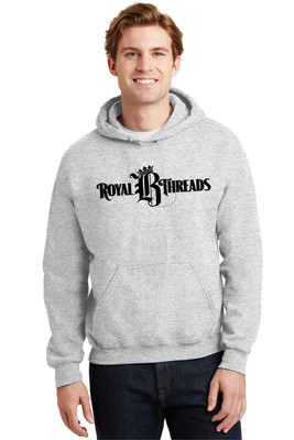 Royal B Threads - Hooded Sport Gray Sweatshirt