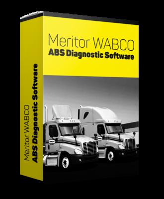 Meritor WABCO ABS Diagnostic Software TOOLBOX PLUS