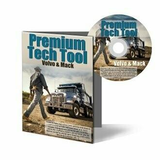 MACK & Volvo Premium Tech Tool (PTT) Diagnostic Software