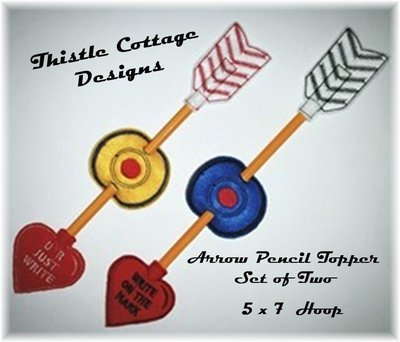 Arrow Pencil Toppers