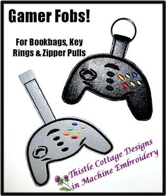 Game Controller FOB  5x7
