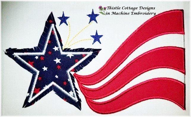 Patriotic Star Banner
