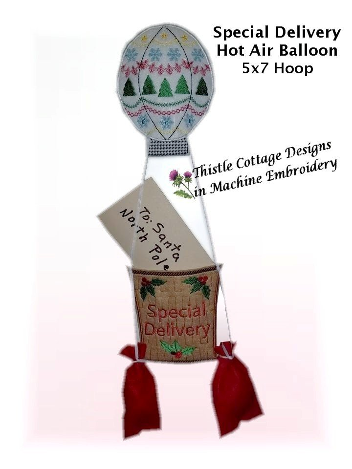 Special Delivery Hot Air Balloon Set