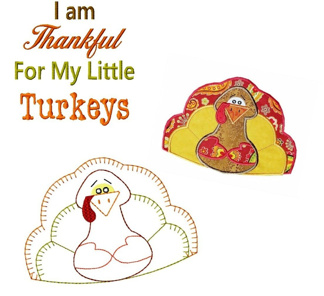 Primitive Turkey Bundle 5x7
