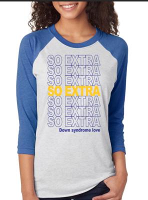 So Extra- Blue & Yellow
