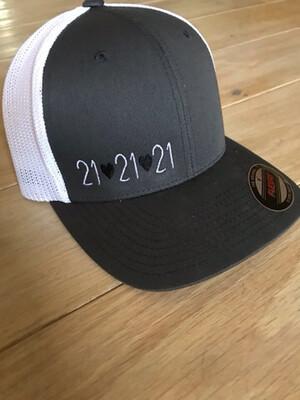 21 (Heart) 21 (Heart) 21 Hat