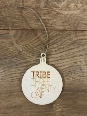 Tribe Three Twenty One Ornament