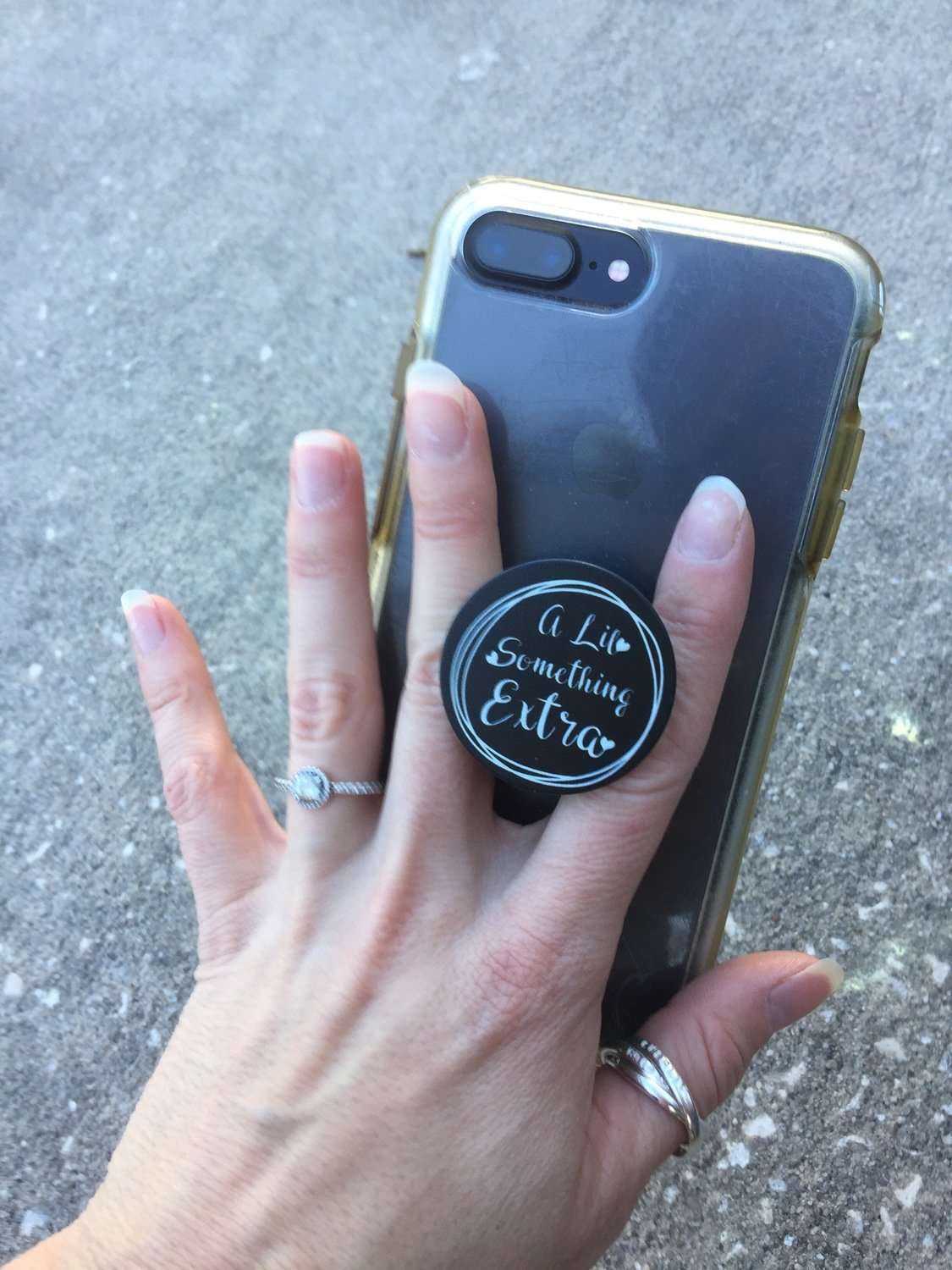 A Lil Something Extra PopSocket