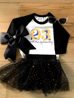 WDSD Black/White Jersey (infant sizes available in this design)