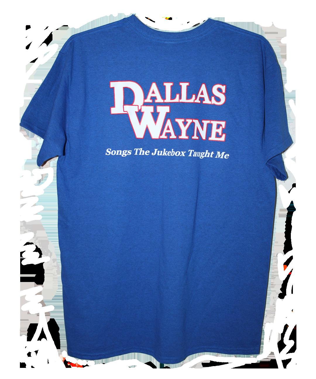 Dallas Wayne Jukebox T-shirt, Blue