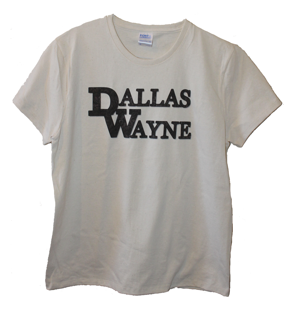 Dallas Wayne Ladies' T-shirt, Beige