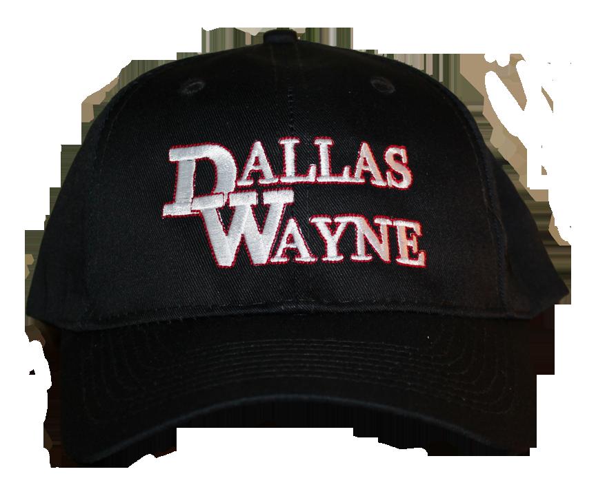Dallas Wayne Hat, Black