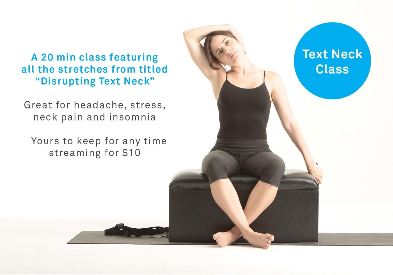 Text Neck Class
