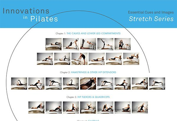 Stretching on the Pilates Reformer: Essential Cues and Images Pose Poster