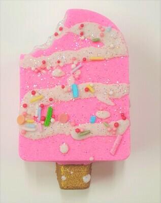 Bath Bomb - Pink Lemonade Iceblock