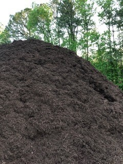 Walnut DYED - Triple Shred Hardwood Mulch