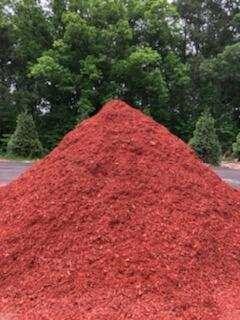 Red Designer Mulch (NEWER TYPE)
