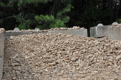 """Tennessee River Rock 2"""" to 5""""(BULK) Will vary in color & size"""