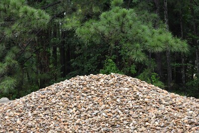 """Tennessee River Rock 1-1/2"""" to 3"""" (BULK) Will vary in color & size"""