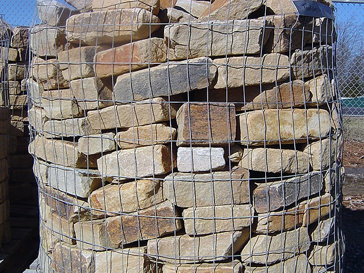 Thick Wall Stone (1 TON PALLETS) in a Variety of Color Choices
