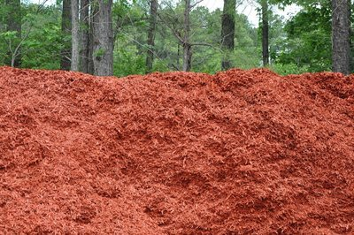 Red Designer Mulch