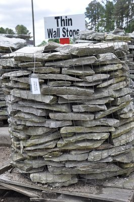 Thin Wall Stone (1 TON PALLETS ONLY) in a Variety of Color Choices