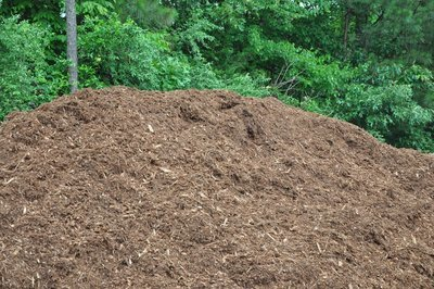 Triple Shredded PINE Bark Mulch (Color Varies Based on Age of Bark)