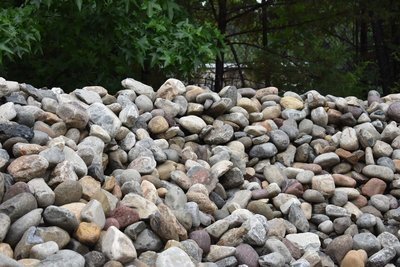 """Delaware Chalet River Rock 3"""" to 5"""" (Bulk) LIMITED & ROCK WILL VARY in COLOR"""