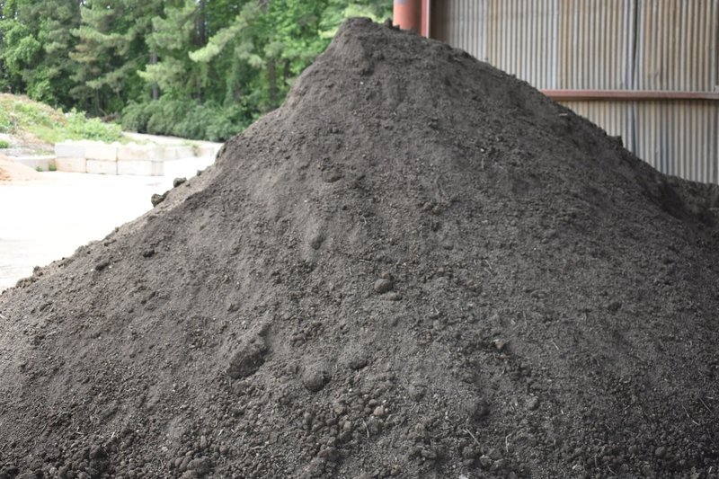 50/50 SOIL BLEND (Compost & Topsoil Mix) WHEN AVAILABLE, DUE TO A