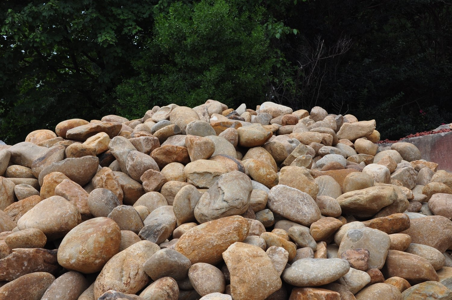 """Tennessee River Rock 6"""" to 14""""  (Bulk) Raleigh Only"""