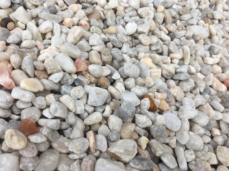"White Quartzite (1/2"" in BULK) LIMITED from QUARRY"