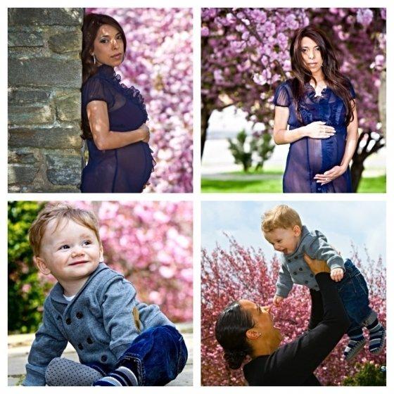 Maternity Family Photo Session