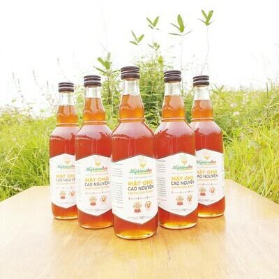 Mua 4 chai mật ong 500ml được tặng thêm 1 chai 500ml
