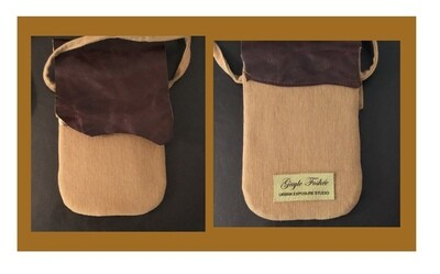 Canvas & Leather Phone bag