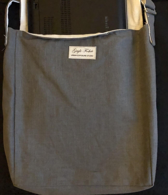 Linen Wanderlust XL Messenger/Notebook Bag