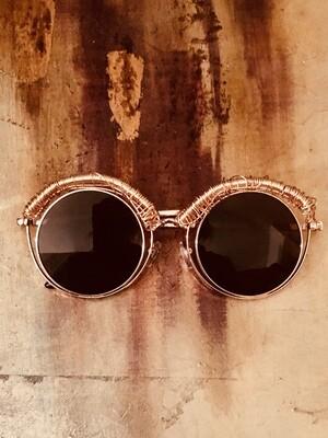 Women's Wire Wrapped Avant-garde Sunglasses