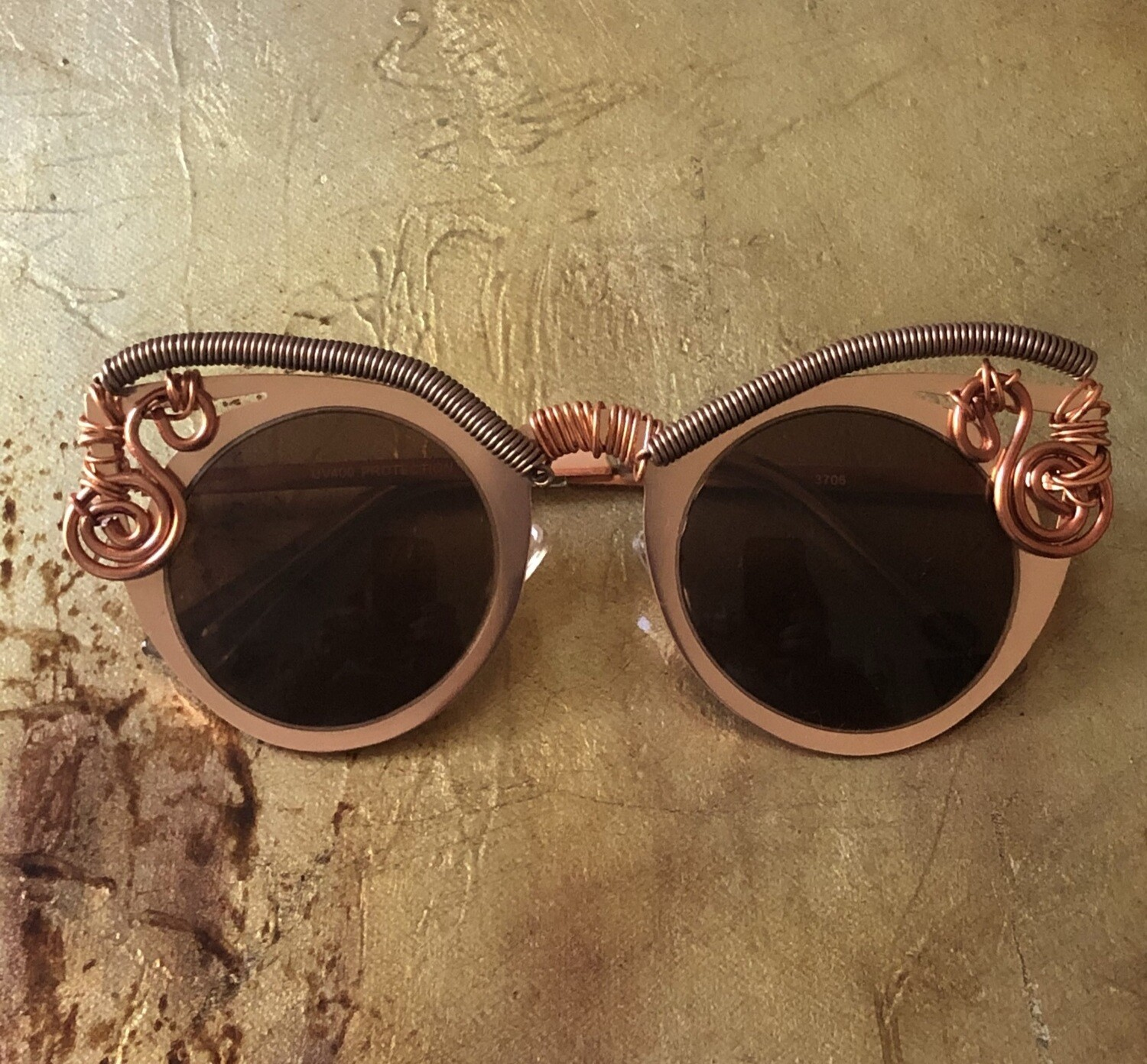 Women's Steampunk Avant-garde Cat Eye Sunglasses