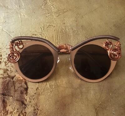 Women's Steampunk Avant-garde Cat Eye Sunglasses